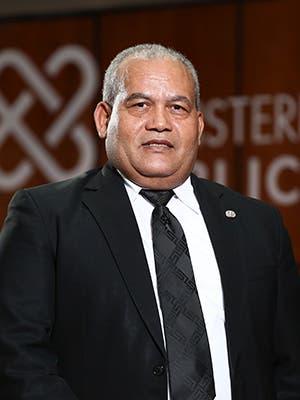 Bienvenido Ventura Cuevas Procurador General de Corte de Apelación Titular de la Procuraduría Especializada contra Tráfico Ilícito de Migrantes y Trata de Personas.