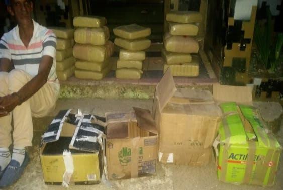 Ejército incauta marihuana y ajo en Las Matas de Farfán