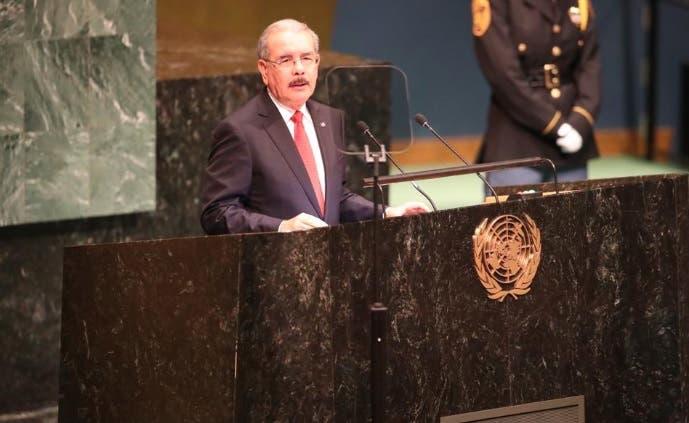 Medina dice en ONU cambio climático y narcotráfico son principales amenazas a estabilidad munidal