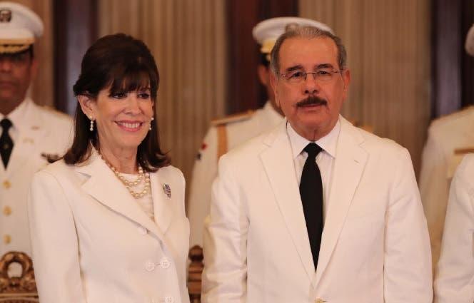 Danilo Medina y Robin Bernstein/Foto: Fuente externa.