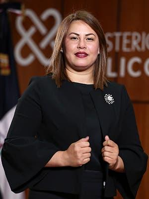 Erika J. Pujols P. Procuradora Fiscal Titular de Samaná.