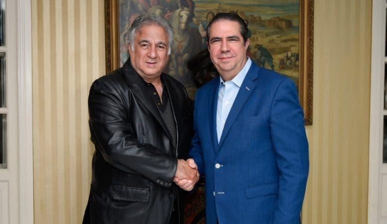 Francisco Javier García  y Miguel Torruco Marqués-
