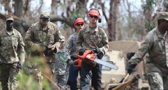 La Guardia Nacional de Puerto Rico tiene en aviso a sus unidades/Foto: http://noticias.bles.com