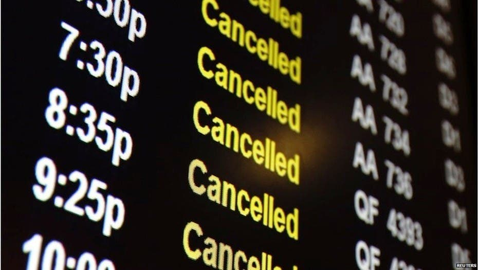 Cientos de vuelos cancelados en Argentina por la huelga general
