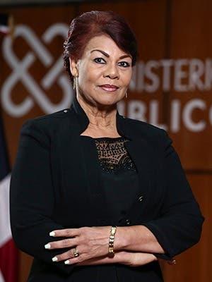 Jessica Ramírez Ullola Procuradora General de Corte de Apelación Titular de la Procuraduría Regional de La Vega.