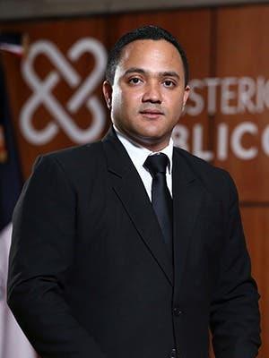Jonathan Baró Gutiérrez Procurador General de Corte de Apelación Titular de la Procuraduría Regional de San Cristóbal.