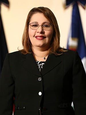 Laura María Guerrero Pelletier Procuradora General de Corte de Apelación Titular de la Procuraduría Especializada de Persecución de la Corrupción Administrativa.