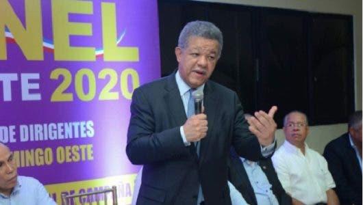 Audio: ¿Irá Cándida Montilla como vice de Leonel en comicios 2020? expresidente responde