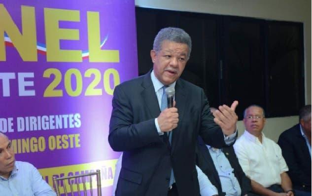 Ex presidente Leonel Fernández.