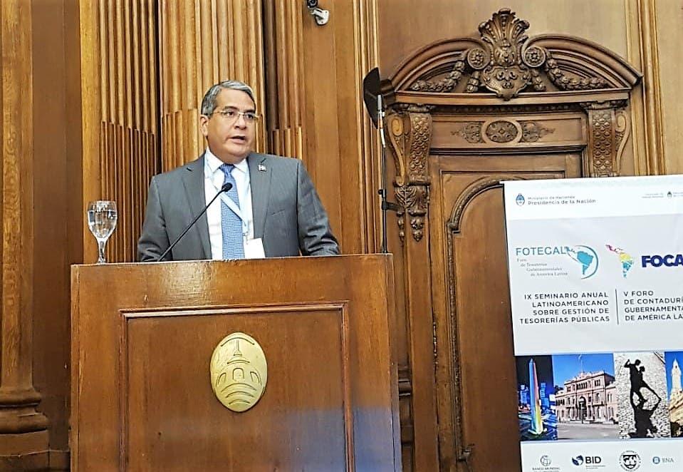 """Tesorero Nacional expone  la """"Eficiencia de la Cuenta Única del Tesoro"""""""