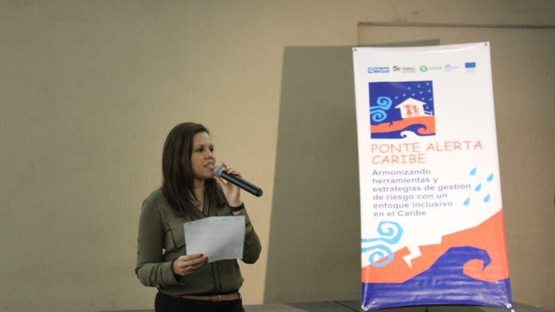 Melanie Benoit%2c especialista Escuela Segura%2c proyecto Ponte Alerta Caribe