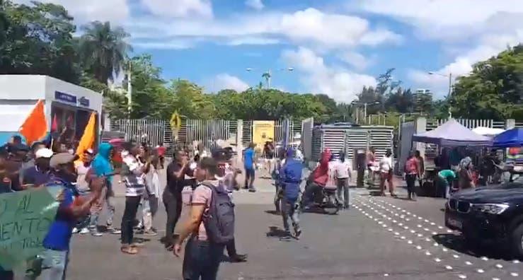 Protesta UASD