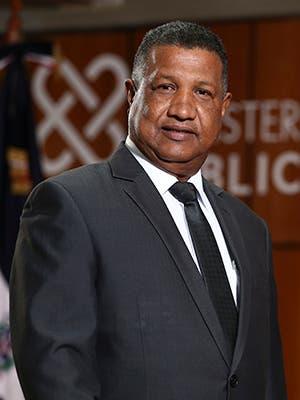 Roberto Enrique Encarnación del Monte Procurador General de Corte de Apelación Titular de la Procuraduría Regional de Macorís.