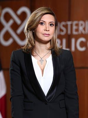 Rosalba Ramos Castillo Procuradora Fiscal Titular del Distrito Nacional.