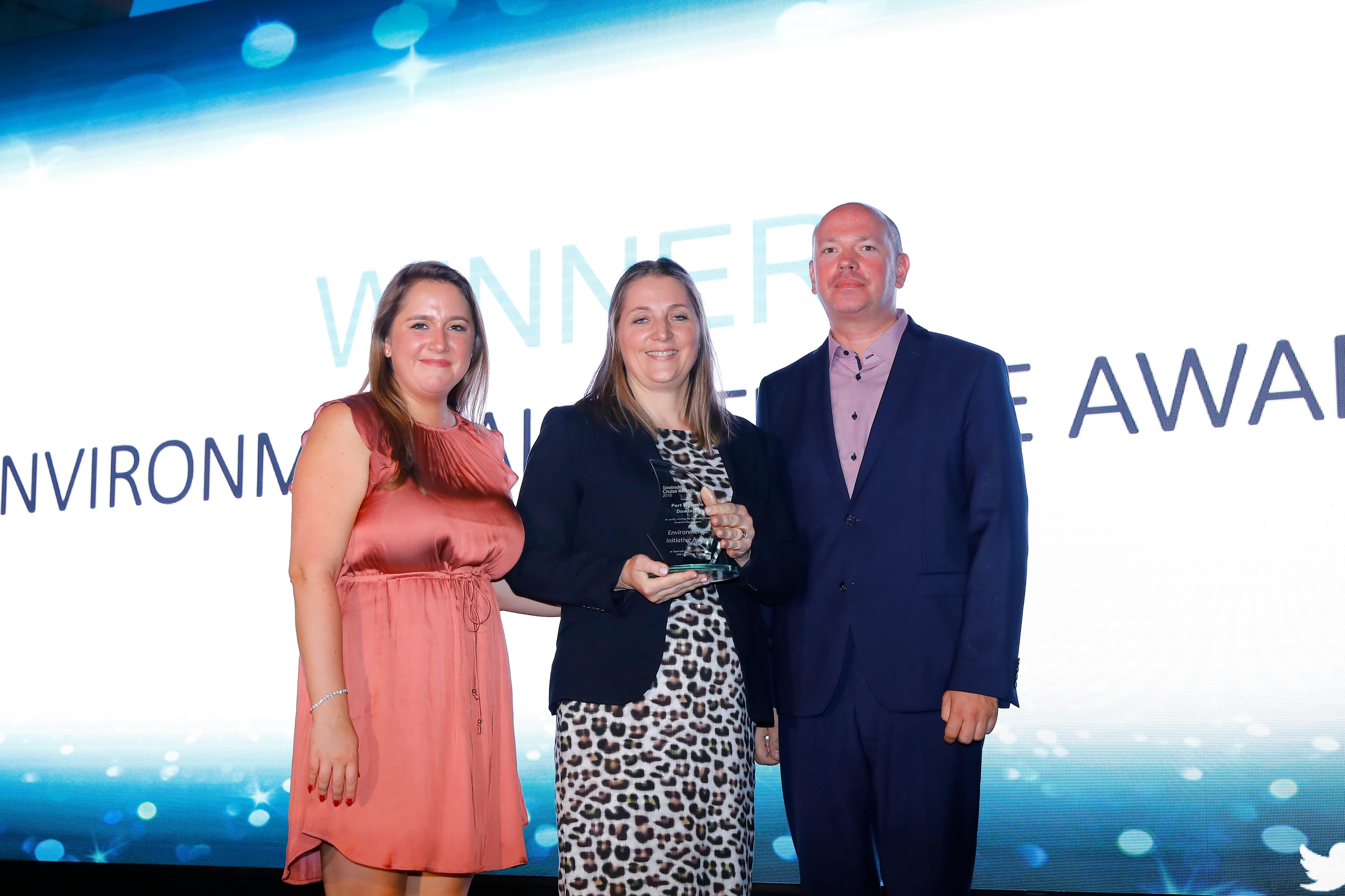 Puerto de San Soucí gana categoría de iniciativa medioambiental en los Seatrade Cruise Awards