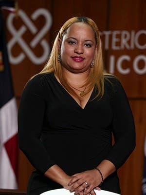 Wendy González Carpio Procuradora General de Corte de Apelación Titular de la Procuraduría Regional de Barahona.