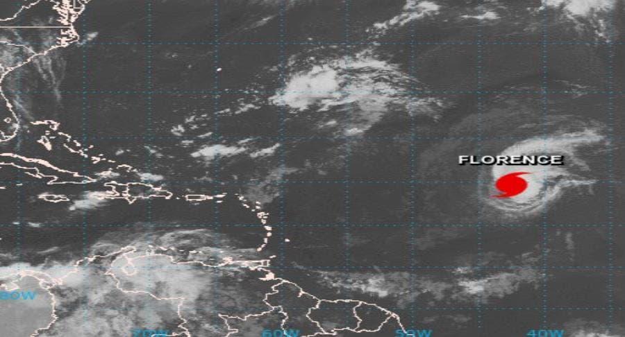 Florence, tercer huracán de la temporada en el Atlántico