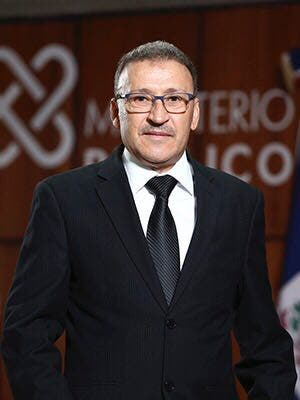 José Del Carmen Sepúlveda Procurador General de Corte de Apelación Titular de la Procuraduría Regional del Distrito Nacional.