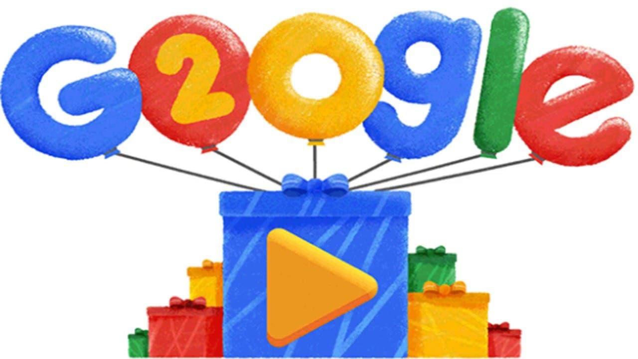 Google celebra su 20 aniversario con un video de las búsquedas más populares