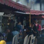 Reportaje vendedores de comidas en la Universidad Autónoma de Santo Domingo. 19 de agosto de 2018. foto Pedro Sosa