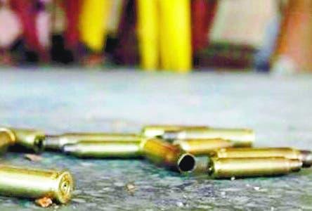 """Joven es herida en un seno en medio de tiroteo por """"punto"""""""