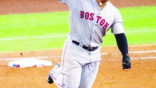 ¡Boston  a la Serie Mundial! Rafael Devers pegó jonrón de 3 carreras
