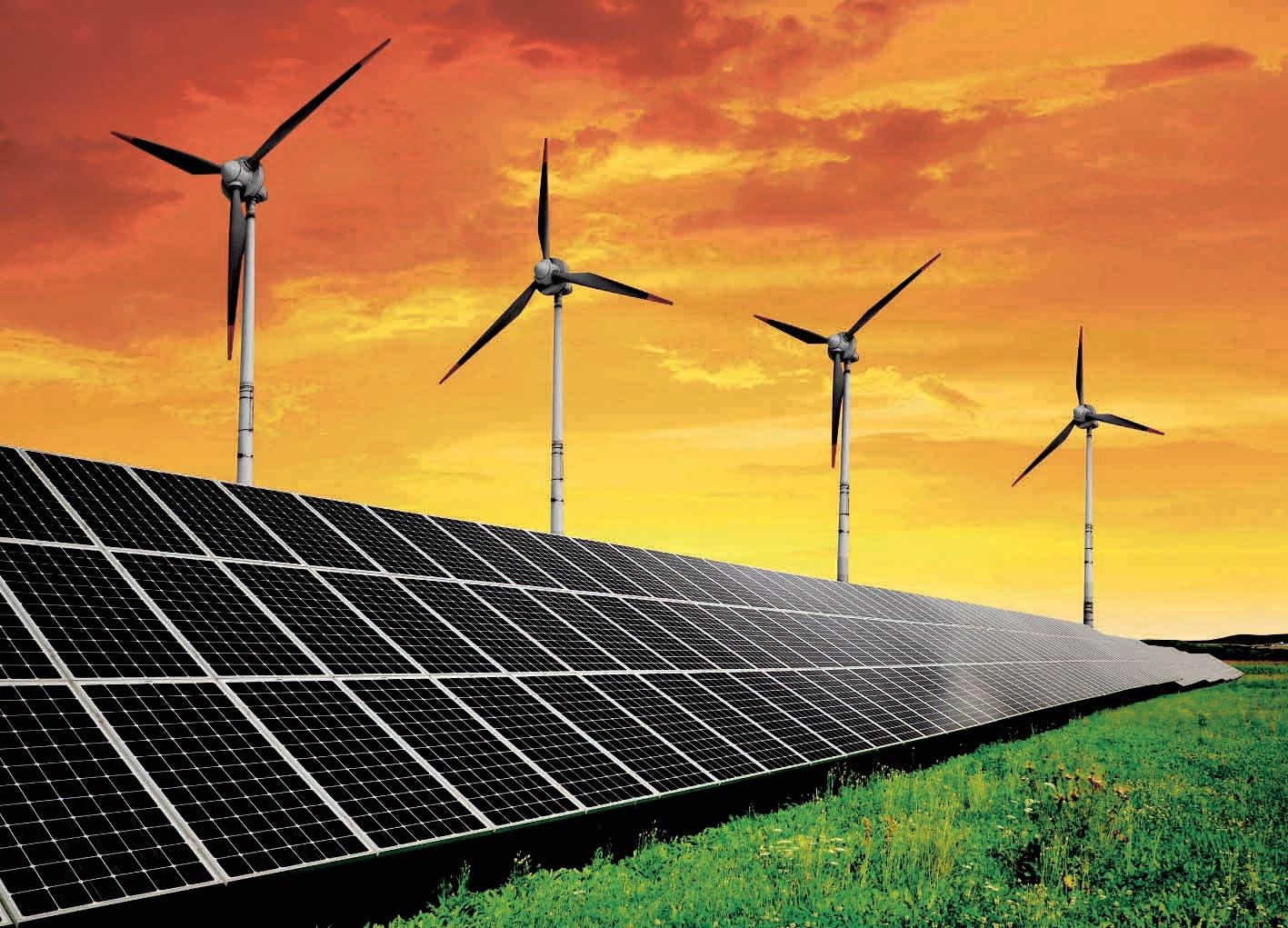 eocnomia. paneles solares. energia eolica, energia solar, energia del viento