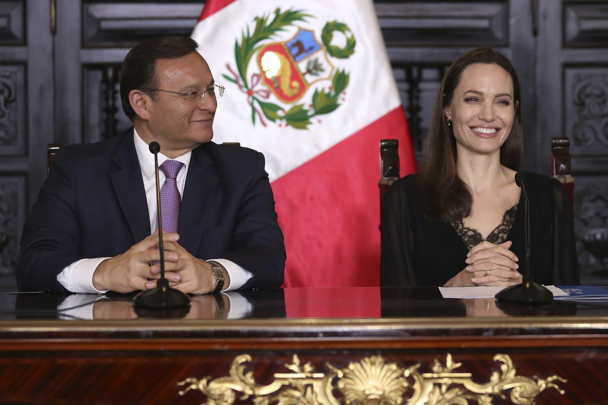 Angelina Jolie pide apoyo para refugiados venezolanos
