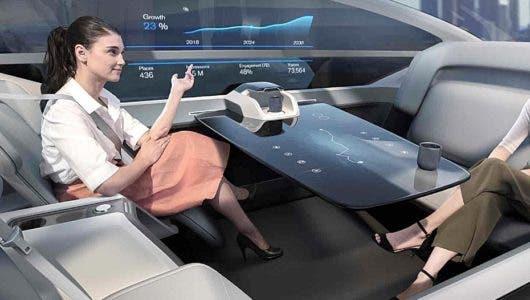 Volvo 360c Autonomous Concept: viajes en primera clase