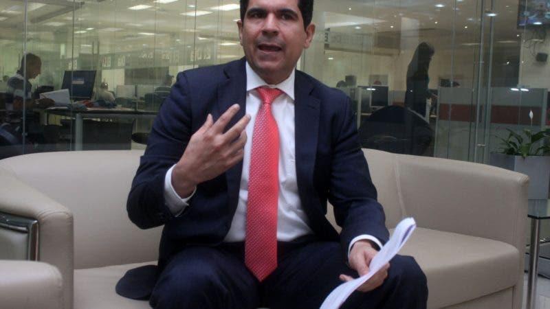 Entrevista económica a LIC José Burdie , gerente general UPS Dominincan en foto : LIC José Burdie HOY Duany Nuñez 9-10-2018