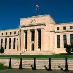 Edificio de la Reserva Federal de Estados Unidos. Federal Reserve Building, Washington, DC.