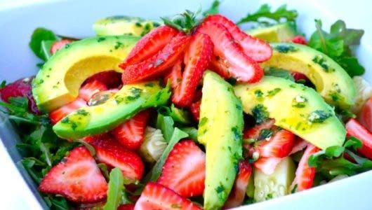 Las mejores ensaladas con frutas y vegetales