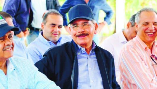 El presidente visita Hato Mayor y El Seibo