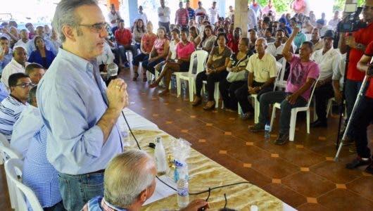 Abinader afirma PRM ganaría elecciones con unidad oposición