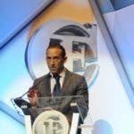 Premios fundación Corripio. Otorgo cinco galardones en diferentes aéreas. En foto: Piero Bonarelli. 09-10-18 Foto: José Adames Arias.