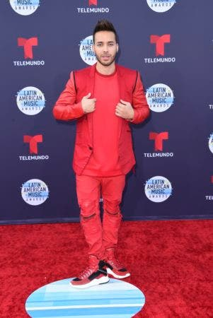 8. Prince Royce arrives at the Latin American Music Awards at the Dolby Theatre on Thursday, Oct. 25, 2018, in Los Angeles. (Photo by Richard Shotwell/Invision/AP)
