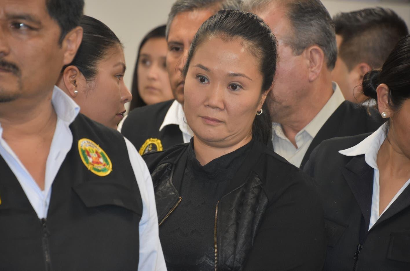 Keiko Fujimori: «Prisión es arbitraria», pide a su padre que esté  tranquilo