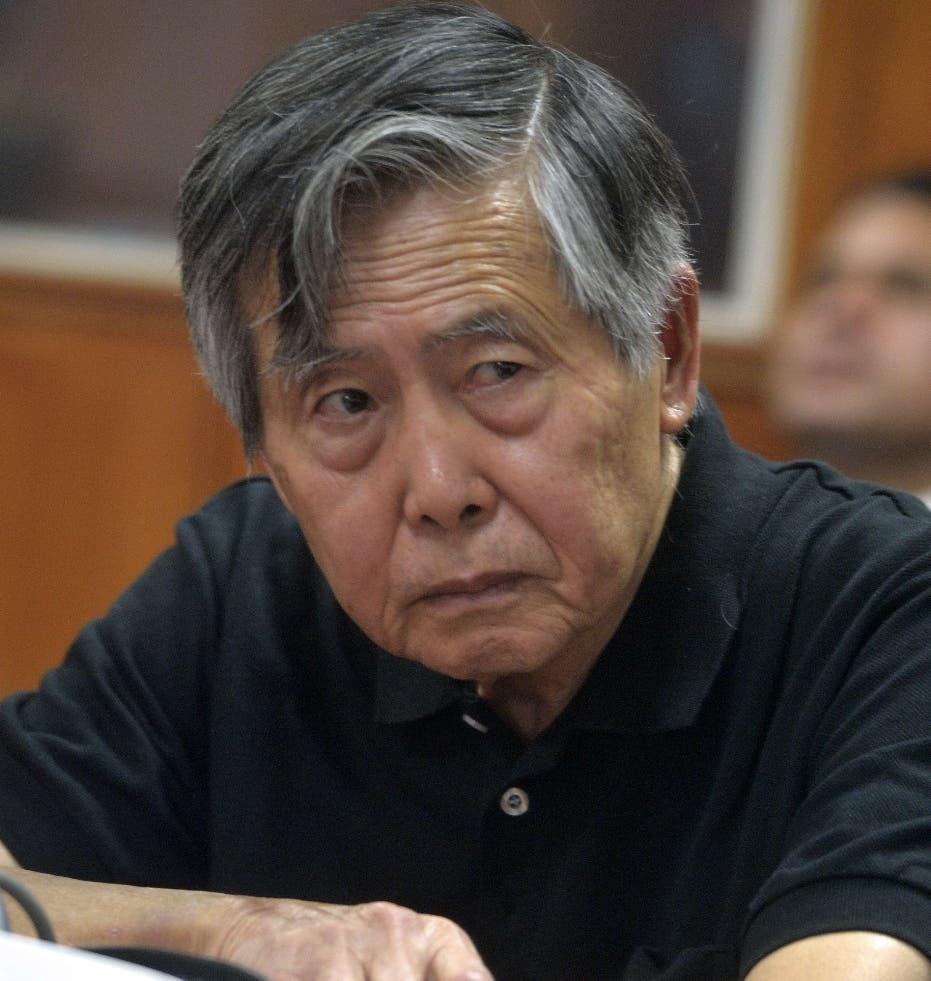 Expresidente peruano Fujimori cuestiona detención de su hija