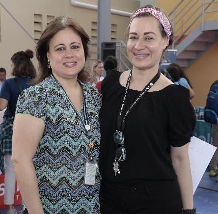 Representantes del Colegio Bilingüe New Horizons y SRT- Student Recruitment Tours acogieron a los estudiantes de los colegios de Santiago y de esa región, que fueron invitados a la Feria Internacional de Universidades realizada en el campus New Horizons Santiago.
