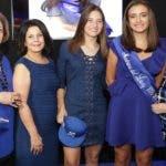 Rostros. Madrina Licey. Matilde Dargam, Matilde Nivar de Alsina, Gabriela Moore, María Jesus Latour Brache y Mercedes Elmudesi