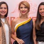 Rostros. Aromelia. Bella Baez, Evelyn Fernández y Marlyn Martínez