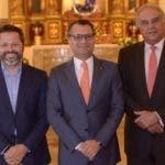 Rostros. Excel 16. Eduardo Cruz, Alberto Cruz y José Gabriel Roig del Consejo de Administración de Excel