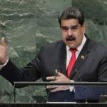 El presidente venezolano Nicolás Maduro interviene ante la 73ra sesión de la Asamblea General de  Naciones Unidas, el miércoles 26 de septiembre de 2018. Maduro acusó el jueves 11 de octubre a Estados Unidos de haber ordenado su asesinato al gobierno colombiano. (AP Foto/Frank Franklin II)