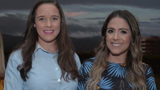 Amanda Wolters y Leslie Polanco
