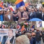 Cientos acompañan a Ramfis Trujillo en caminata Alto Manhattan