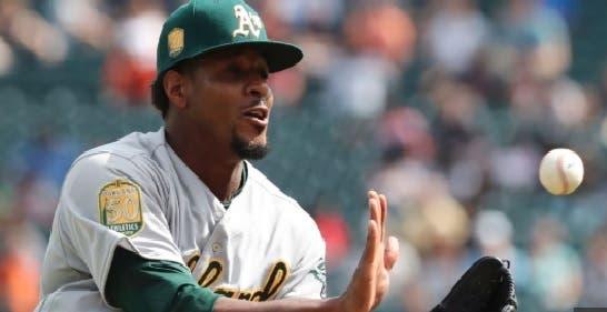 Jackson, el único lanzador abridor en el roster de los A's