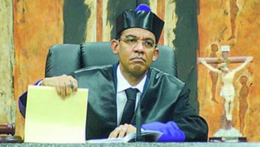 """Juez esperará """"en el sosiego de su conciencia"""" el veredicto del pleno SCJ sobre su recusación"""