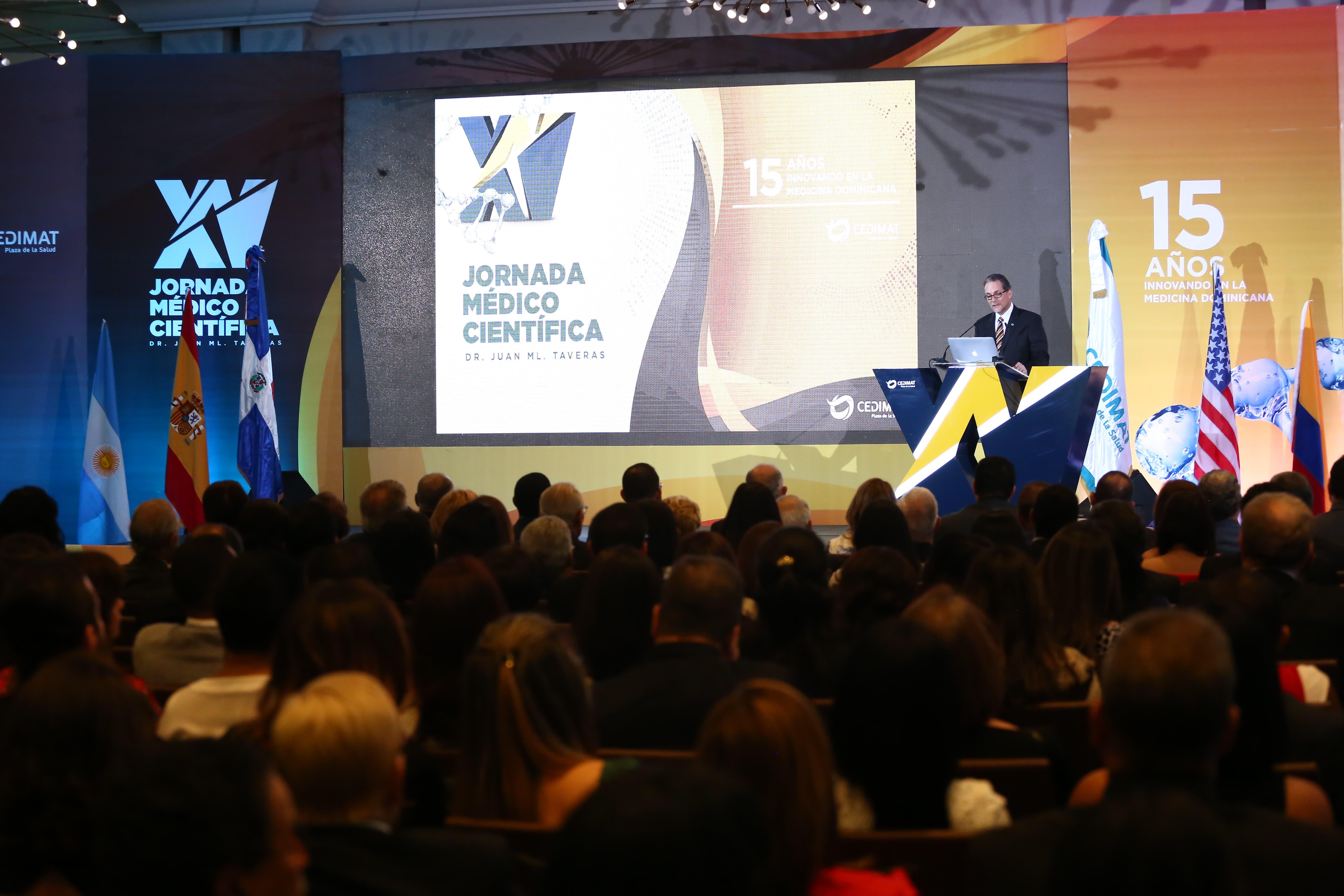 Jornada 2.  Inauguración XV Jornada Dr. Juan Manuel Taveras
