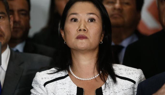 Juez peruano ordena 36 meses de prisión preventiva contra Keiko Fujimori