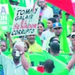 Marcha Verde solicitó juicio político a Danilo Medina hace 10 meses.